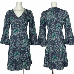 Anthropologie Maeve Florence Swing Dress S Floral